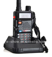 Australian Frequencies 477MHz 8W 128CH UHF + VHF Dual Band Dual standby 2 way Radio Walkie Talkie for Australia Tonfa UV985