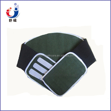 2015 Most popular high quality orthopedic breathable Canvas Waist back support brace