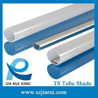 Most popular all plastic tubes- extruding profile for T8 led tube light housing and heatsink aluminum profile