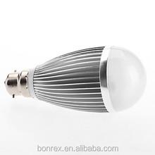 Bonrex B22 10W 700-800LM 3000-3500K Warm White Light LED Ball Bulb (110-220V)