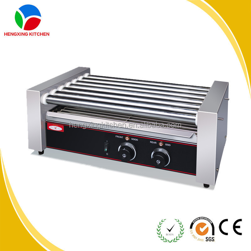 Commercial hot dog grill roller hot dog roller and bun - Hot dog roller grill with bun warmer ...