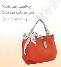 cheap price lady handbag with scarves