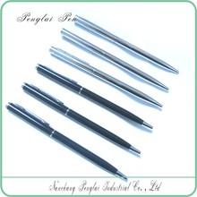 Hot selling popular promotional slim thin cross hotel used metal ball pen