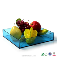 World best selling products high quality wholesale acrylic fruits tray