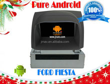 Pure Android 4.2 car navigation for FORD Fiesta RDS,Telephone book,AUX IN,GPS,WIFI,3G,Built-in wifi dongle