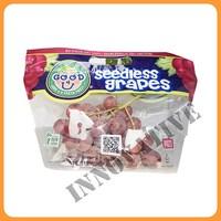 Customized Fruit Packaging Bag for grape/cherry/fruit