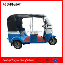 2015 hot sale Bajaj three wheel closed driving cab motor tricycle