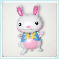 Rabbit Shaped Helium Foil Balloon for party decoration