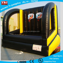 Inflatable basketball shoot game for kids and adults