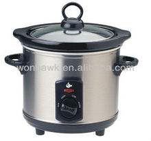 round electric slow cooker
