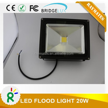 Outdoor 20w led flood light bridgelux chips with 3 years warranty
