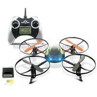 6044 2.4G 4 channel quadcopter 3D RC flying UFO with LCD transmitter rc flying ufo x copter