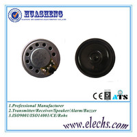 Excellent professional 28mm, 25ohm,1w round small thin powered mylar micro speaker