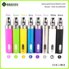 Wholesale 2200mah ego t battery electronic cigarette ego battery best price ecig ego t battery