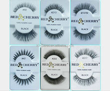 Red Cherry 100% Human Hair Lash Black Bird! Celebrity Lashes!