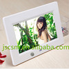 cheap automatic 7 inch digital photo frame sex video play with motion sensor