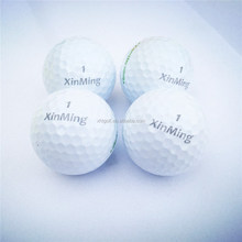 New golf maker wholesale for 2-piece golf range ball