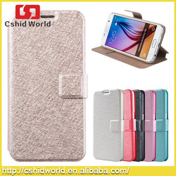 Factory Price Mobile Phone Leather Case For Samsung Galaxy S6