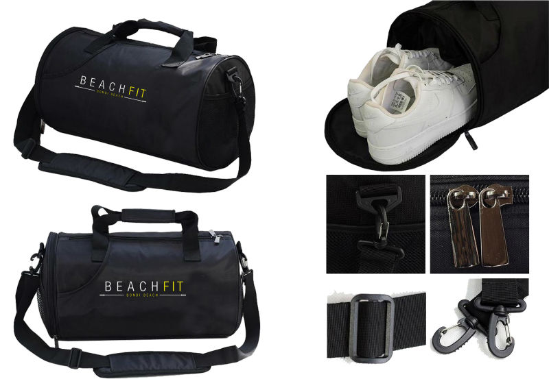 High volume custom travel gym bag fitness bag