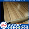 melamine particle board prices from shandong LULI GROUP manufacturers since1985