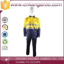 Hi-Vis Cool-Breeze Two Tone Cotton reflective Work Uniform