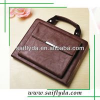 High quality pu leather handbags stand cover case for ipad 4