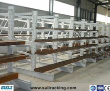 Customized Wood furniture industry storage Cantilever Racking