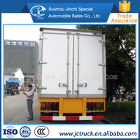 Popular Dongfeng mini refrigerated van truck supplier in China