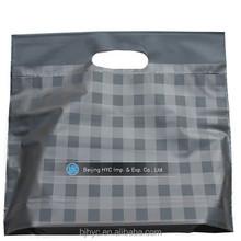 die stampati personalizzati taglio gestire o molle del ciclo di gestire laterali a soffietto o sacchetto in basso rinforzo ldpe per il confezionamento