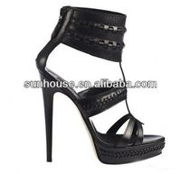 low price ladies high heel safety shoes