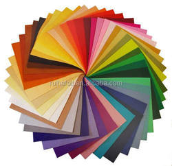 sales promotion 2mm thickness 100% Pure dyed craft felt