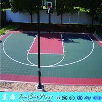 Professional basketball sport outdoor basketball court interlocking