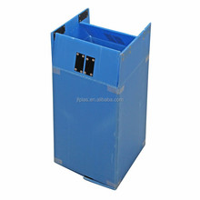 PP Foldable Corrugated Box with Velcro for Turnover box and Storage