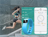 TW64 Bluetooth 4.0 Fitness Activity Tracker Smart Band Wristband Pulsera Inteligente Smart Bracelet Not Fitbit Flex Fit Bit ios