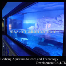 aquarium transparent plastic fish tank