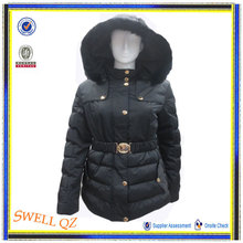 2014 High fashion women jacket winter padding fur coat, women clothes