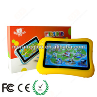 2014 hot 7 inch tablet kid, andriod tablet pc, English learing tablet, CE, FCC, ROHS, made in china