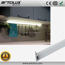 12v IR Sensor under kitchen cabinet led lighting white modern home bar cabinet led light