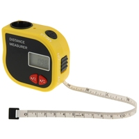 From 2 feet to 60 feet Ultrasonic Measurer Distance Laser Point
