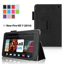 No MOQ cover case for Kindle Fire HD 7, wholesale for Kindle Fire HD 7 letaher cover