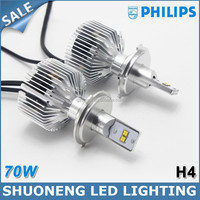 New Product !!! Philips 3500lm 35W Replacing Halogen HID High Lumen LED H4 Auto Head Light