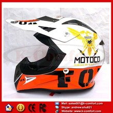 KCM65 for FOX motorcycle helmet professional motocross helmet Men off-road moto cascos Dirt Bike capacete