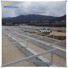 Ground Mounted Solar Energy System Mounting Bracket