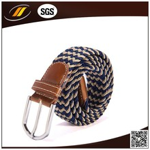 Fashion 2.5cm Women Elastic Belts with Silver Buckle