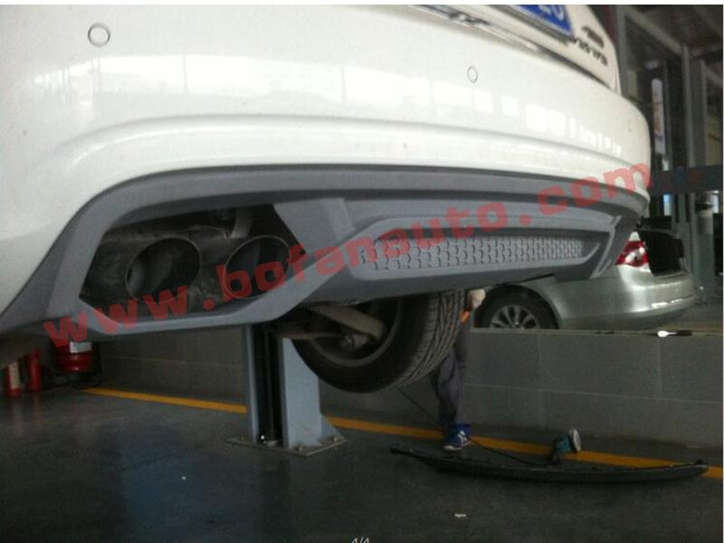 Source Abt Style A4 B9 Rear Diffusertail Pipe Car Rear Bumper