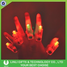 Logo Printed Mini Plastic Glow Finger Light,Concert Glow Finger Light,Mini Single Led Lights