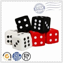 New Product China Supplier Promotional fuzzy dice