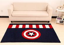 captain America handmade area rugs/carpets for home,high quality handmade rugs