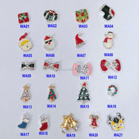 Christmas Alloy Nail Art Design