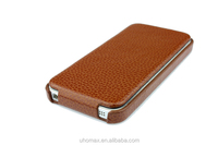 2015 New Fashion Customized Attractive Genuine Leather Cell Phone Case For Iphone 6 Factory Wholesale